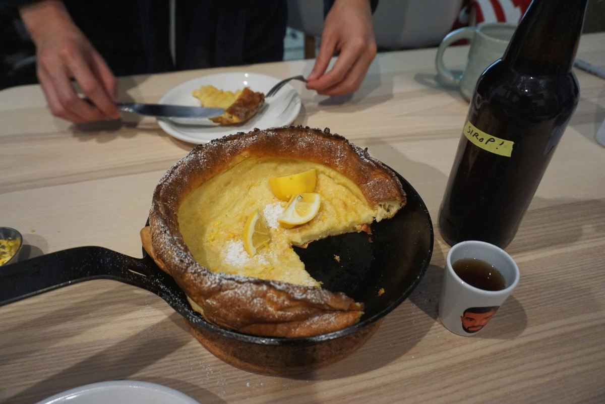 The Dutch Baby Pancake - jenna huynh