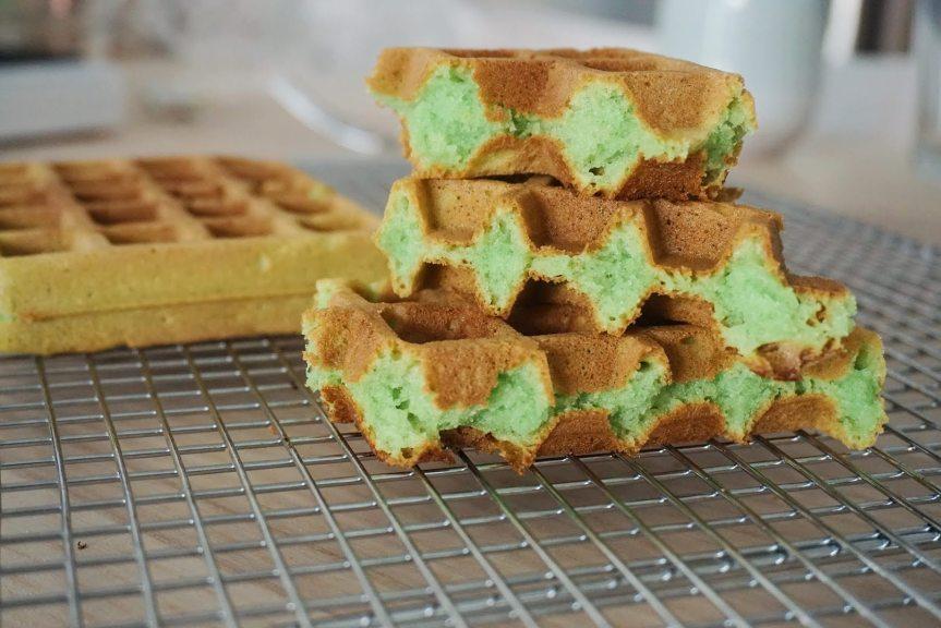 Pandan Waffles (BánhKẹp)